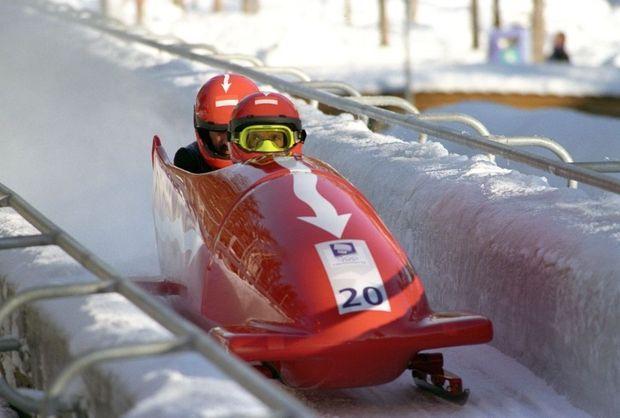 albert bobsleigh jo Lillehammer en 1994-
