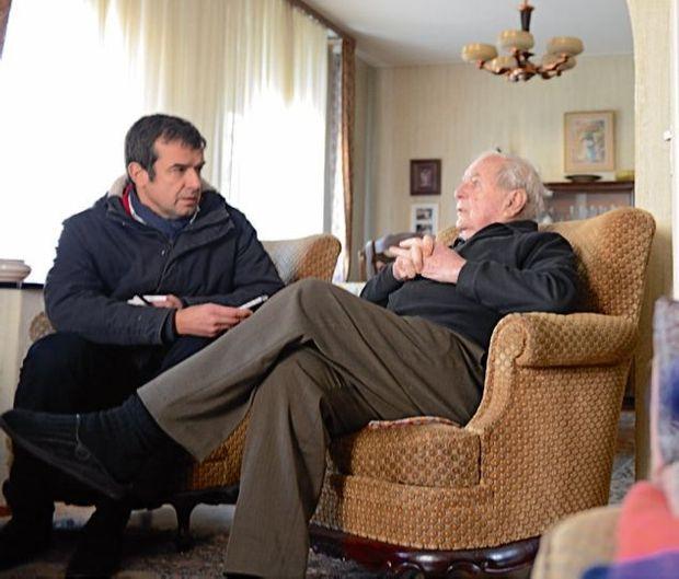 Le 29 janvier, Albert Daul avec Régis Le Sommier, directeur adjoint de la rédaction.