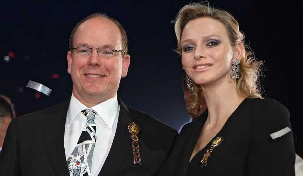 Albert II de Monaco et Charlene Wittstock-