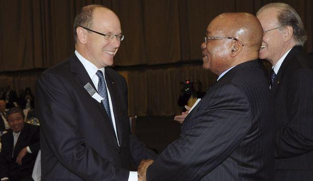 Albert Monaco Jacob Zuma-