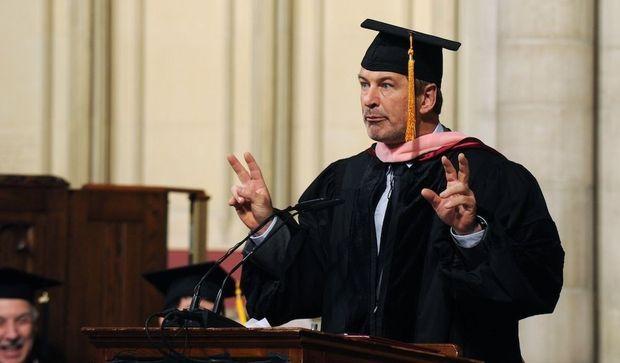 Alec Baldwin diplômé-