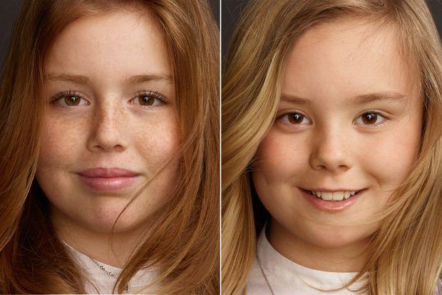 Portraits des princesses Alexia et Ariane des Pays-Bas par Erwin Olaf