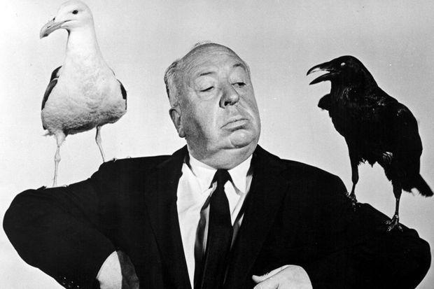 """Alfred Hitchcock et """"ses Oiseaux""""."""
