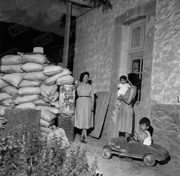 Juin 1955. Malgré des murs de sacs de sable prêts à soutenir un siège, la vie quotidienne suit son cours sous un vernis de normalité. Les attentats perpétrés par le FLN le 1er novembre 1954 ont fait plusieurs victimes parmi les civils pieds-noirs et musulmans.