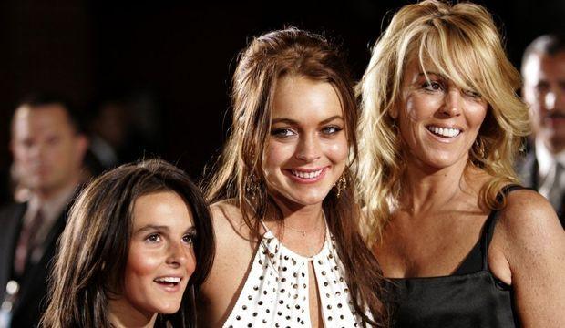 Ali, Lindsay et Dina Lohan-