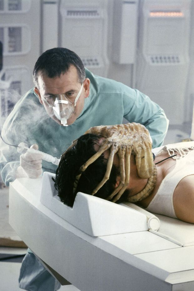 «Alien» de Ridley Scott, 1979.
