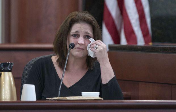 Amber Kyzer, la mère des victimes, avait plaidé pour la prison à vie et non la peine de mort contre son ex-mari.