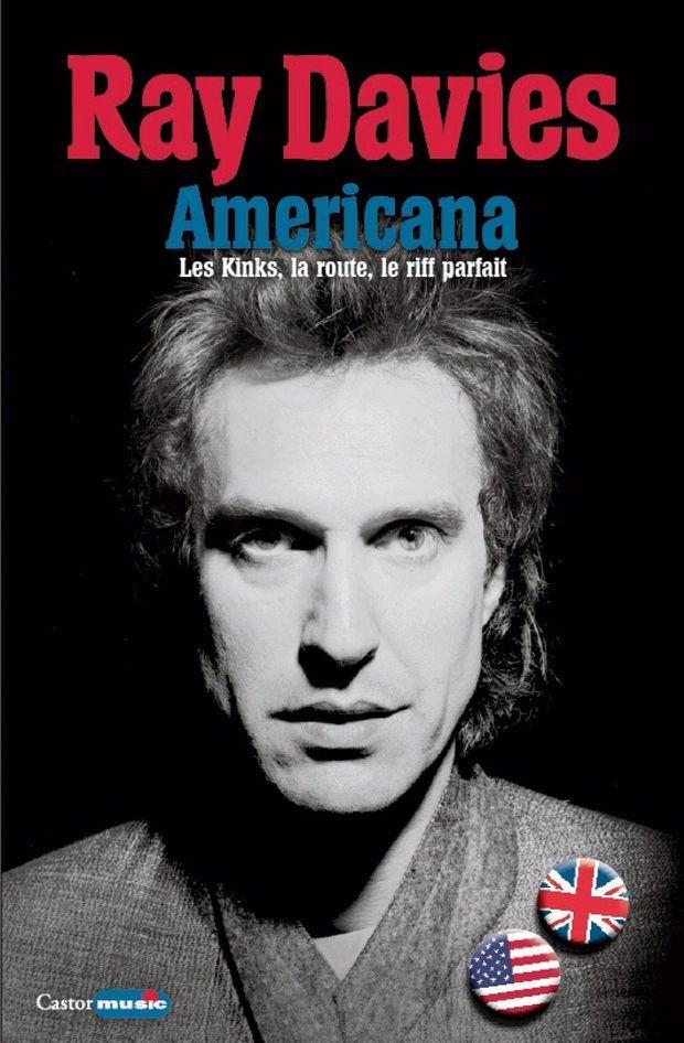 """La couverture d'""""Americana"""" de Ray Davies, chanteur des Kinks."""