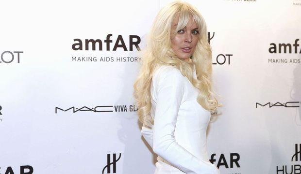 Amfar Lindsay Lohan-