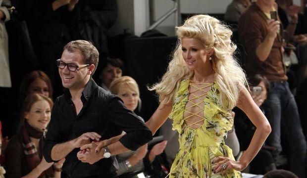 Andre Tan et Paris Hilton-