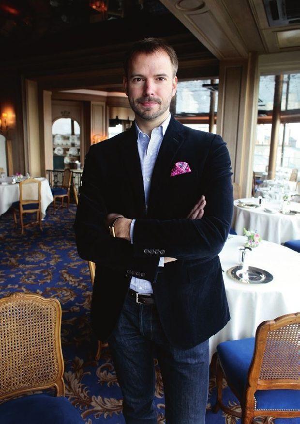 André Terrail, jeune ambassadeur d'un patrimoine intemporel.