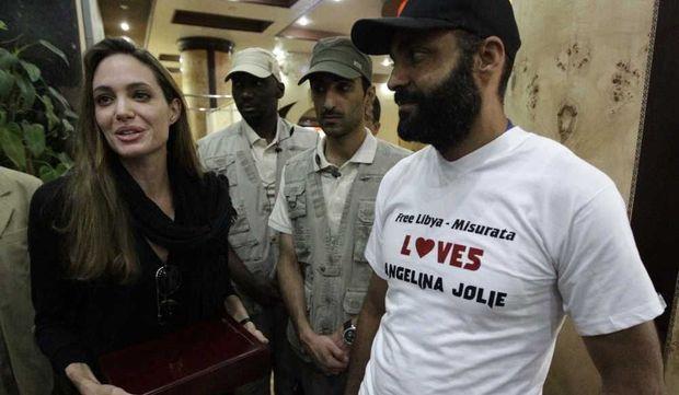 Angelina Jolie à Misrata-