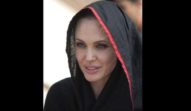 Angelina Jolie au Pakistan -