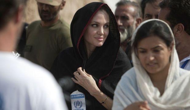 Angelina Jolie au Pakistan-