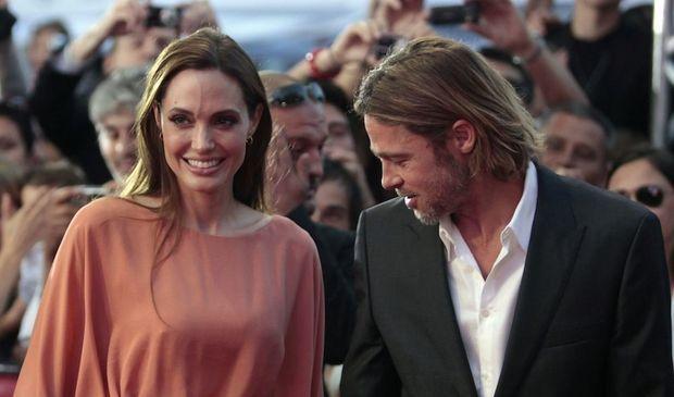 Angelina Jolie et Brad Pitt à Sarajevo-