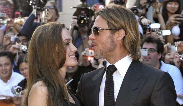 Angelina Jolie et Brad Pitt-