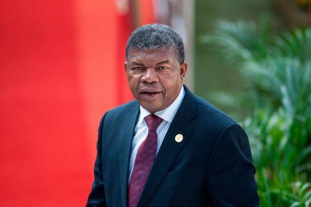 Le président angolais João Lourenço, en Afrique du Sud le 25 mai 2019.