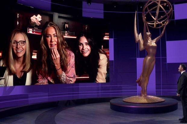 Lisa Kudrow, Jennifer Aniston et Courteney Cox.