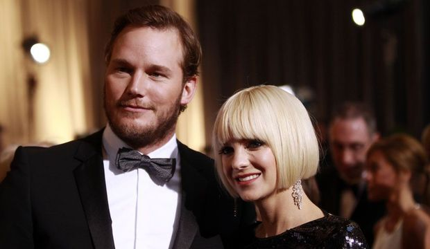 Anna Faris et Chris Pratt-