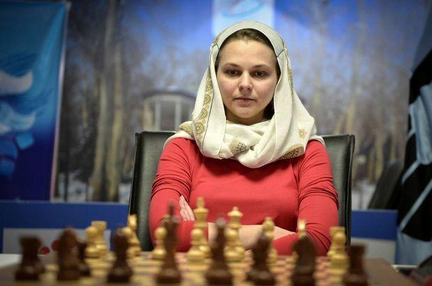 """En Iran pour le Women World Chess championship en mars 2017, contrainte de porter le hijab, Anna Muzychuk se souvient d'""""une expérience difficile"""""""
