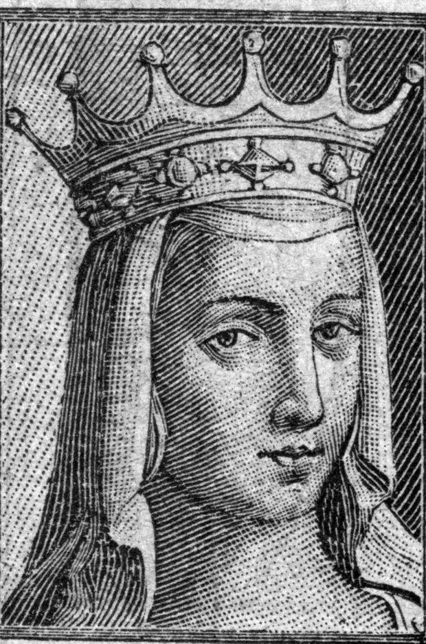 Gravure figurant Anne de Kiev