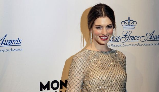 Anne Hathaway Princess Grace Awards-