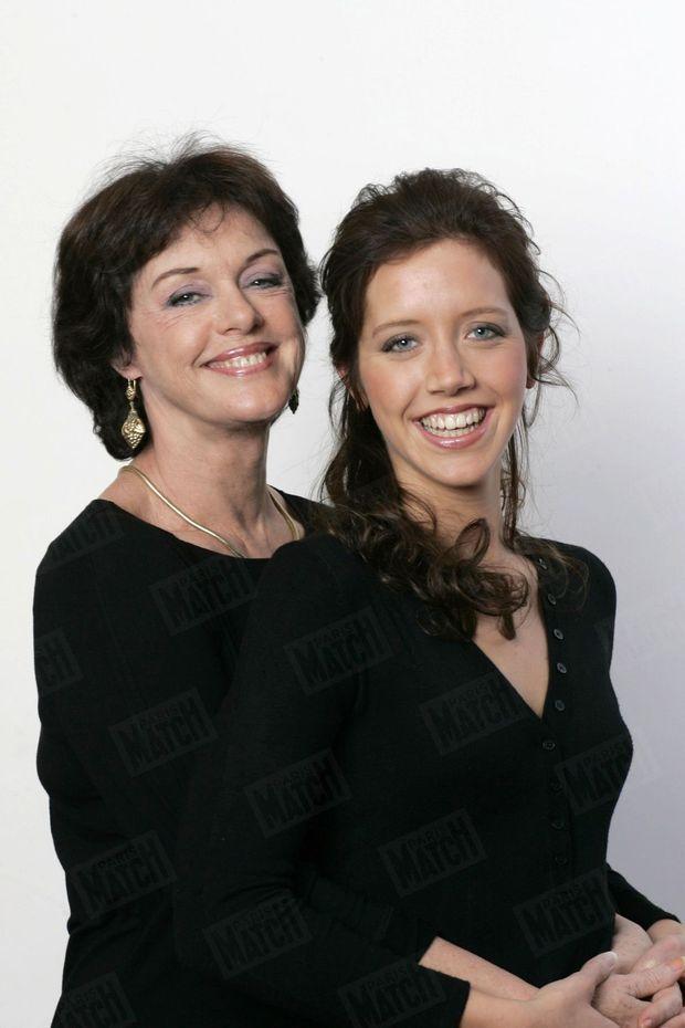 Anny Duperey et Sara Giraudeau, pour Paris Match, janvier 2006.