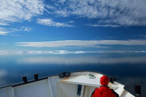 28 décembre, 65 degrés de latitude sud. Un pur paradis...
