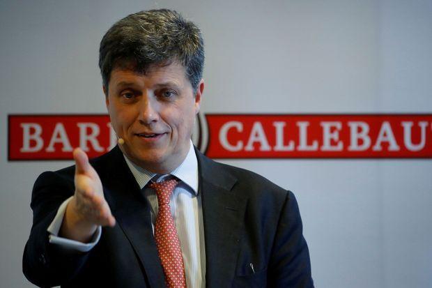 Antoine de Saint-Affrique, à l'époque patron de l'entreprise chocolatière Barry Callebaut, en novembre 2018.