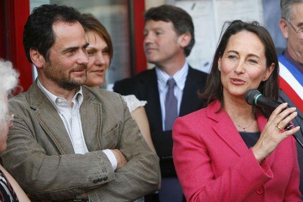 Antoine et Ségolène Royal ensemble à Chamagne en avril 2007.