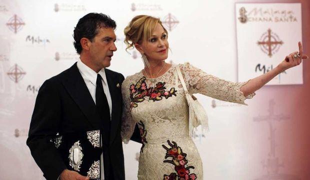 Antonio Banderas et Melanie Griffith -