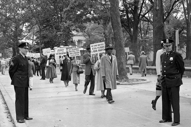 Après la mort d'Emmett, les Afro-Américains se sont mobilisés pour leurs droits.