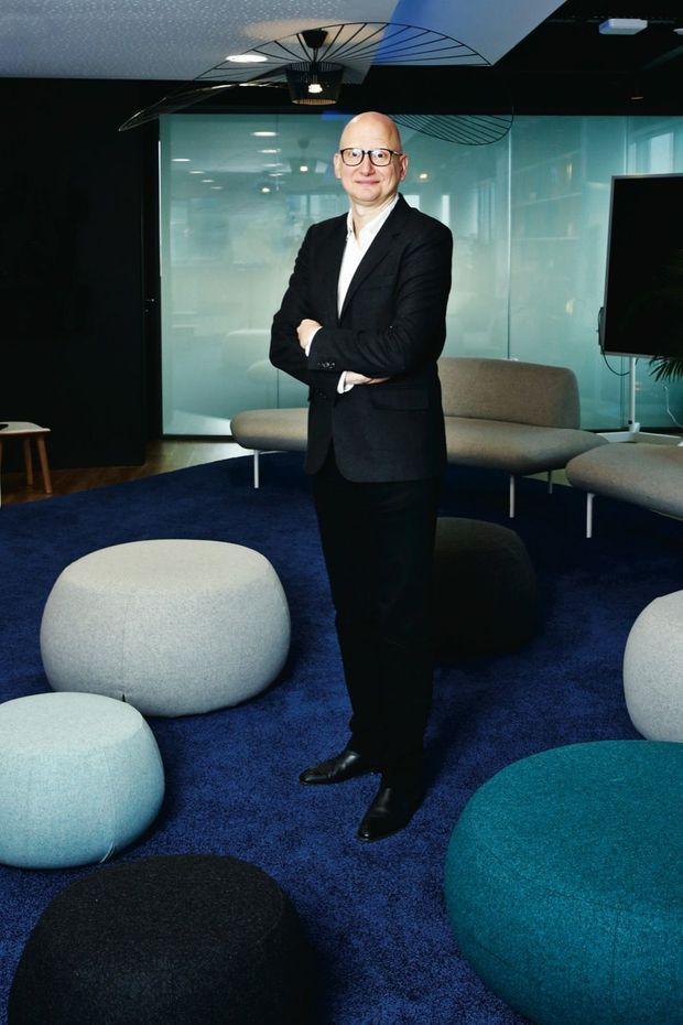 Ara Aprikian, le directeur des programmes de la Une.