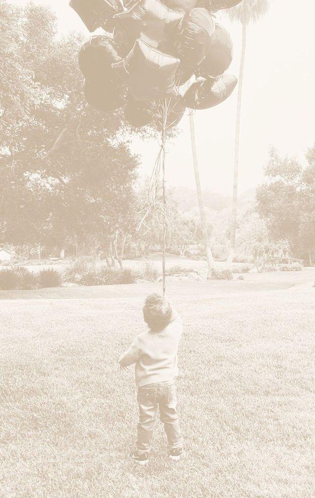 Achie, sur le nouveau cliché dévoilé par ses parents pour son anniversaire.
