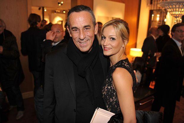 Thierry Ardisson et sa femme Audrey Crespo-Mara.