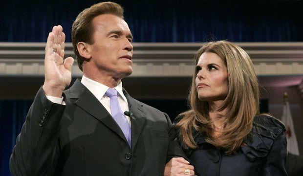 Arnold Schwarzenegger et Maria Shriver-