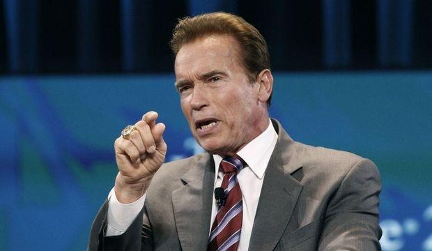 Arnold Schwarzenegger I'll be back-