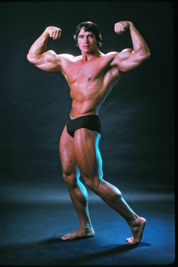 Arnold Schwarzenegger en octobre 1976.