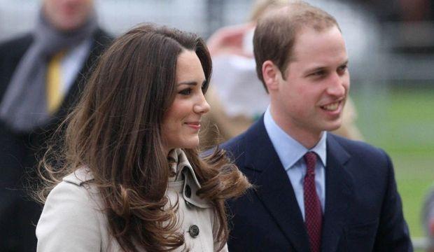 Arrivée William et Kate-