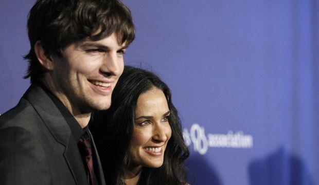 Ashton Kutcher Demi Moore-