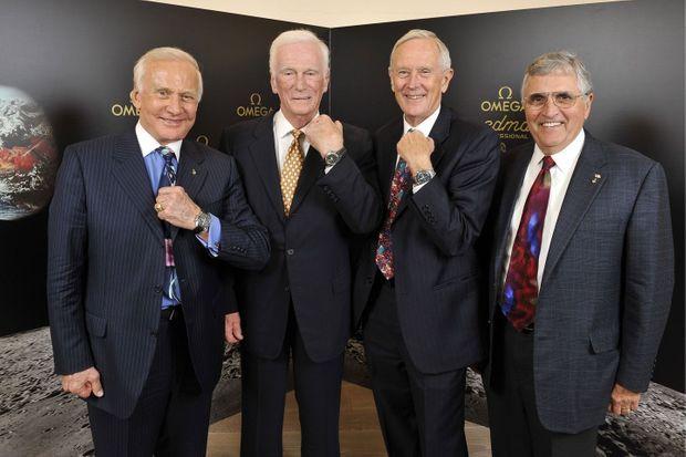 Les astronautes et leurs montres Oméga Speedmaster