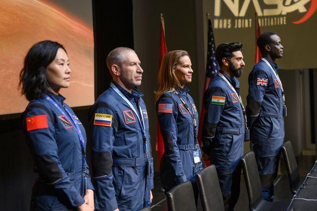 Les astronautes de l'Atlas.