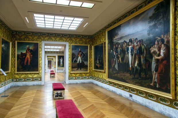 L'attique du Midi au château de Versailles