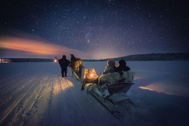 Au bord du lac Torassieppi