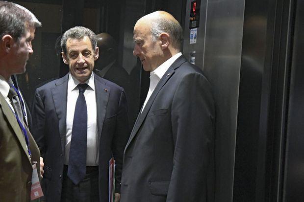 Au conseil national du parti Les Républicains, le 2 juillet, échange crispé avec Alain Juppé dans l'ascenseur