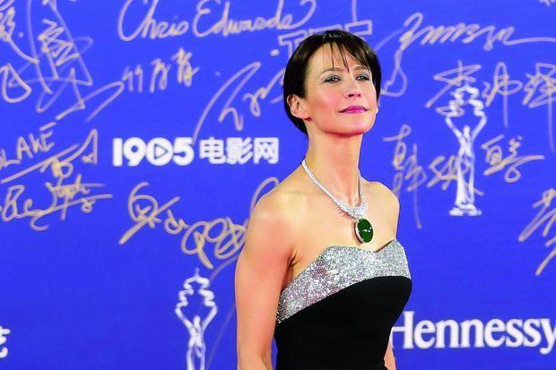 Au Festival international du film de Pékin, le 13 avril, où elle présente son troisième long-métrage, en partie tourné en Chine.