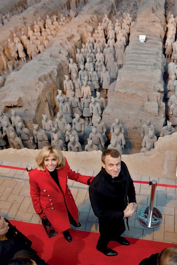 Au mausolée de l'empereur Qin.