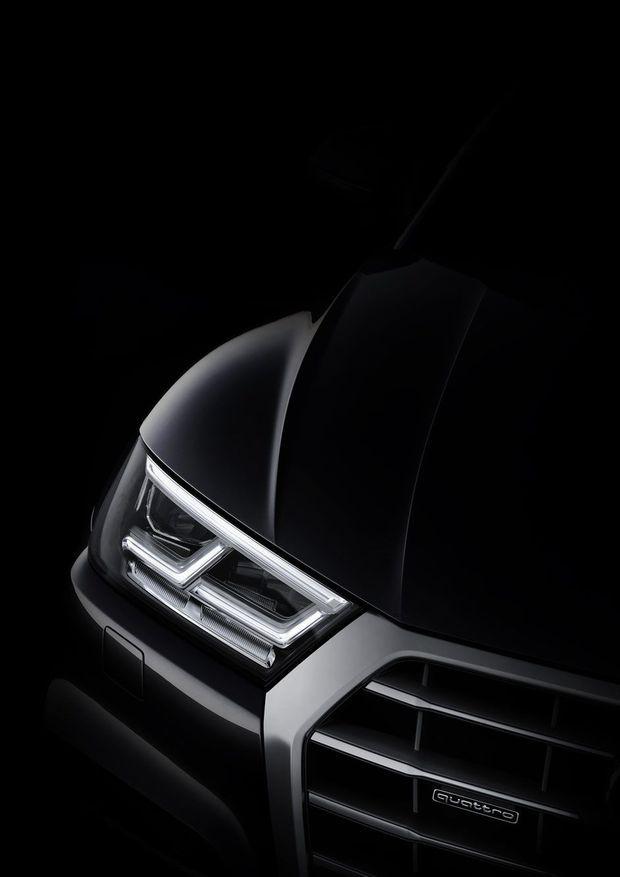 L'avant du nouvel Audi Q5.