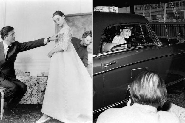 Audrey Hepburn et Hubert de Givenchy.