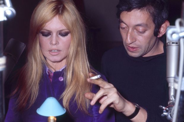 Avec Brigitte Bardot